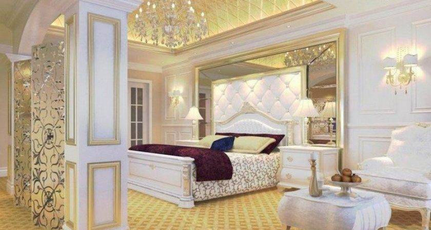 Gold White Bedroom Ideas Beautiful