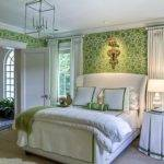 Gorgeous Green White Bedrooms