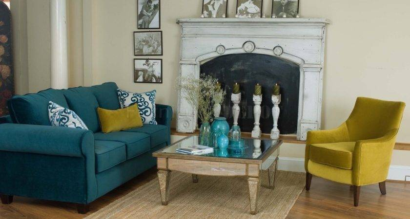 Gorgeous Ideas Blue Green Living Room Home Design