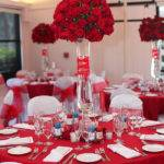 Gorgeous Tall Red Rose Centerpiece Inspiration Lovely