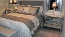 Gray Beige Bedroom Grey Sheets Paint Benjamin