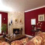 Gray Burgundy Living Room Militariart