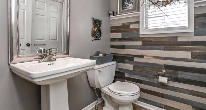 Gray Powder Room Ideas