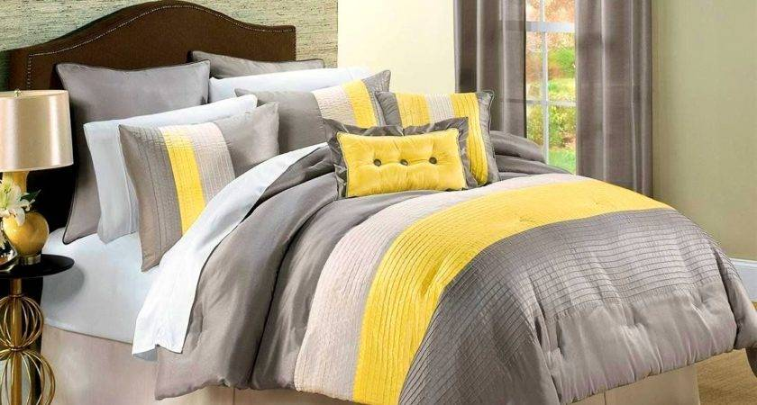 Gray Yellow Decorating Ideas Interior Design
