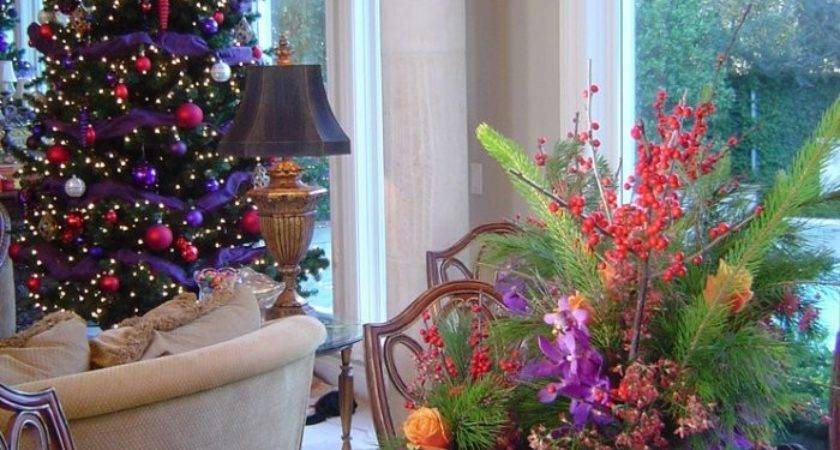 Great Colorful Ideas Home Christmas Decorations