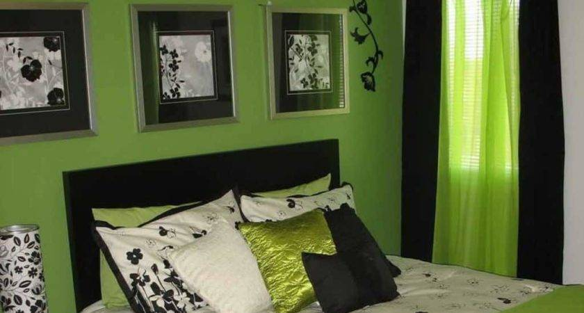 Green Bedroom Idea Classy Design
