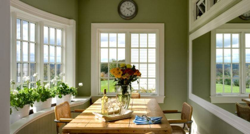 Green Brown Room Inspiration Pursuit