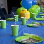 Green Table Setting Everything Awesome Lego