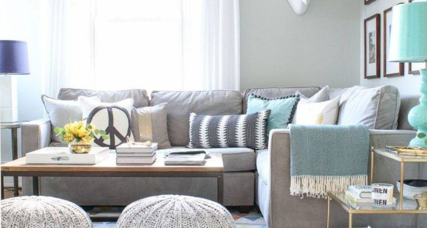 Grey Couch Living Room Decorating Ideas Home Safe