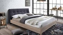 Grey Fabric Beech Bed Matching Furniture Sets