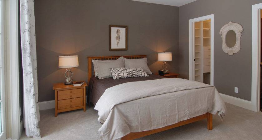 Grey Walls Beige Carpet Bedroom Traditional Coachmen