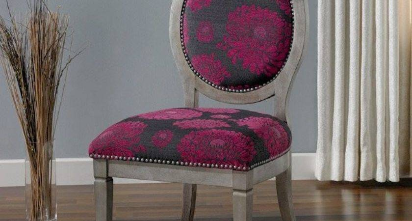 Haley Fuschia Chair Shipping Today Overstock