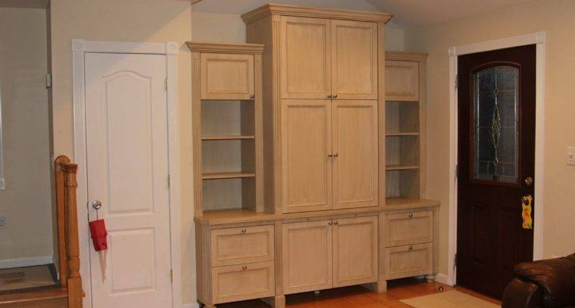 Hand Crafted Built Wall Unit Stan Loskot Fine