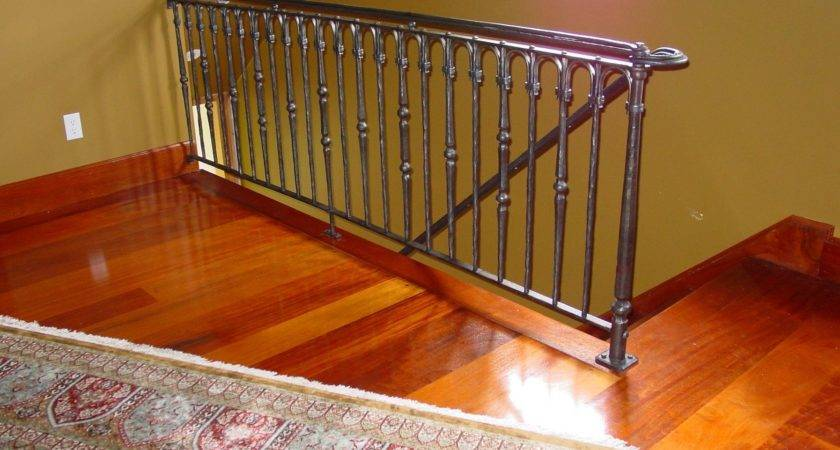 Hand Crafted Loft Railing Rising Sun Forge Custommade