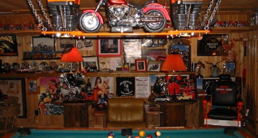Harley Davidson Home Decorating Ideas Pin