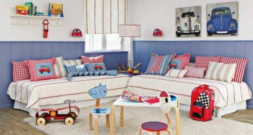 Headboard Design Ideas Shared Kids Bedroom