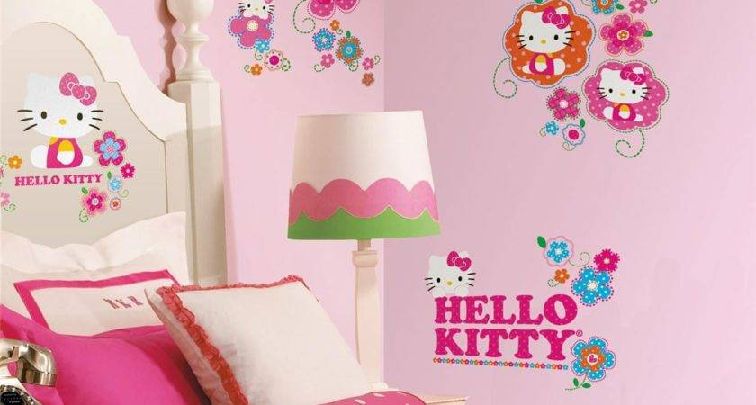 Hello Kitty Wall Decal Sticker Ideas Girls