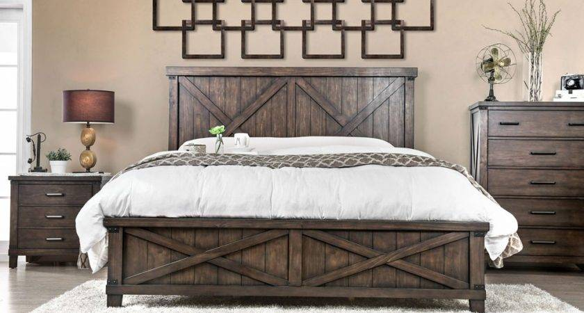 Hennessy Industrial Style Bedroom Furniture