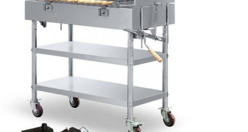 High Performance Rotating Indoor Countertop Gas Grills
