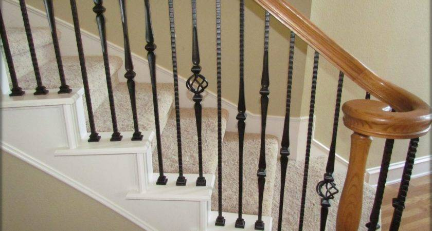 High Quality Powder Coated Iron Stair Parts Ironman