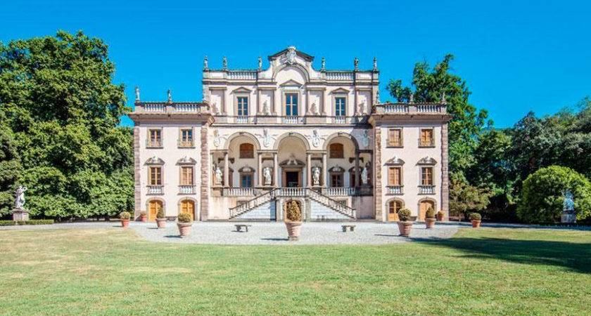 Historic Century Mansion Lucca Italy Homes