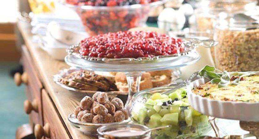 Holiday Buffet Serving Tips Display Ideas