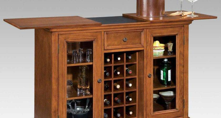 Home Bar Cabinet Outside Kitchen