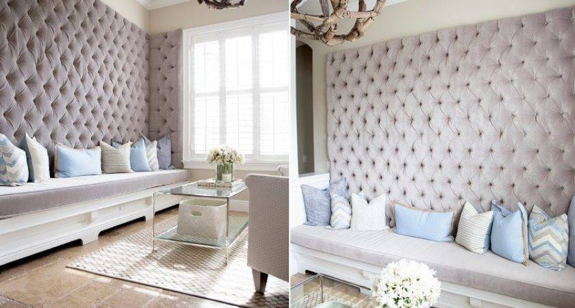 Home Could Look Like Had Upholstered Walls