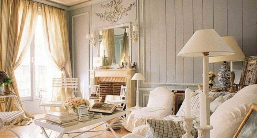 Home Decor Shabby Chic Style Living Room Ideas White