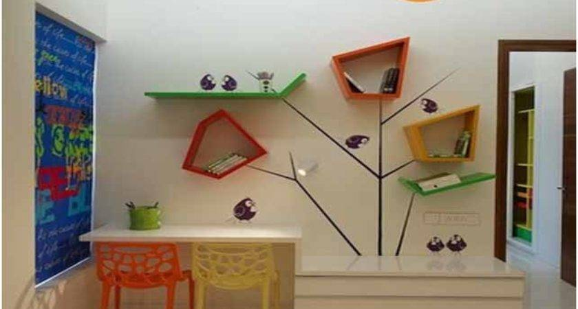 Home Decorating Compact Study Table Designs