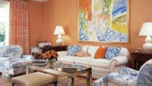 Home Design Peach Living Room