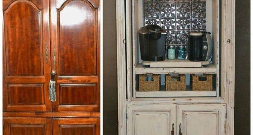Hometalk Repurposing Old Armoire