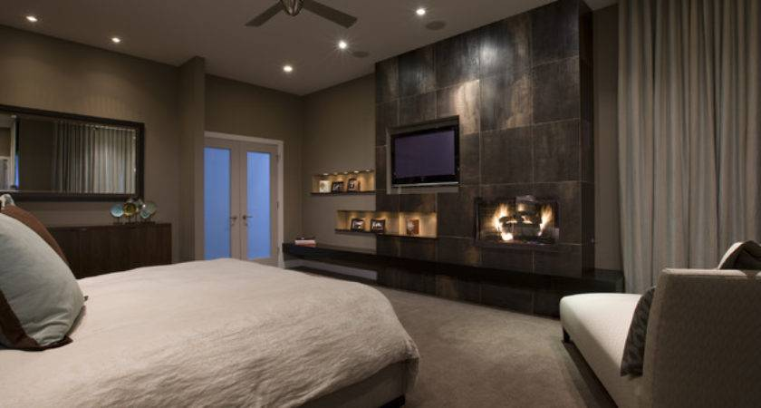 Honore Contemporary Master Bedroom