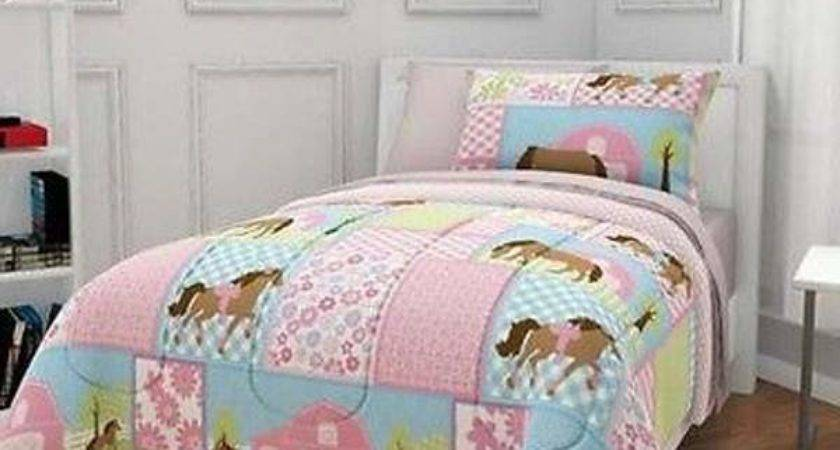 Horse Bedding Sets New Arrival Running Horses Print Queen