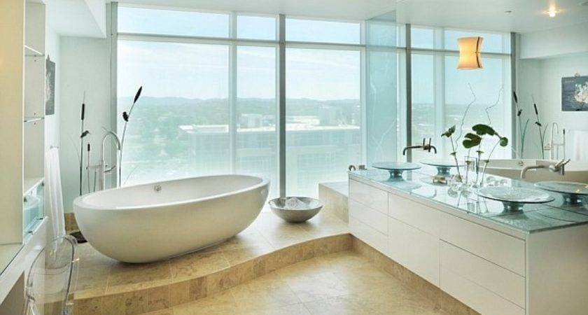 Hot Bathroom Trends Freestanding Bathtubs Bring Home