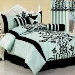 Hot Pink Black Comforter Sets Home Design Ideas