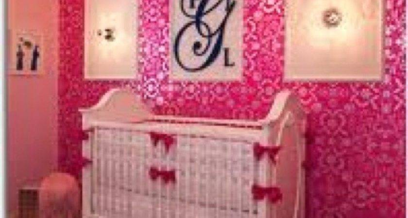 Hot Pink Paint Colors Bedrooms Kinlees Room One Wall
