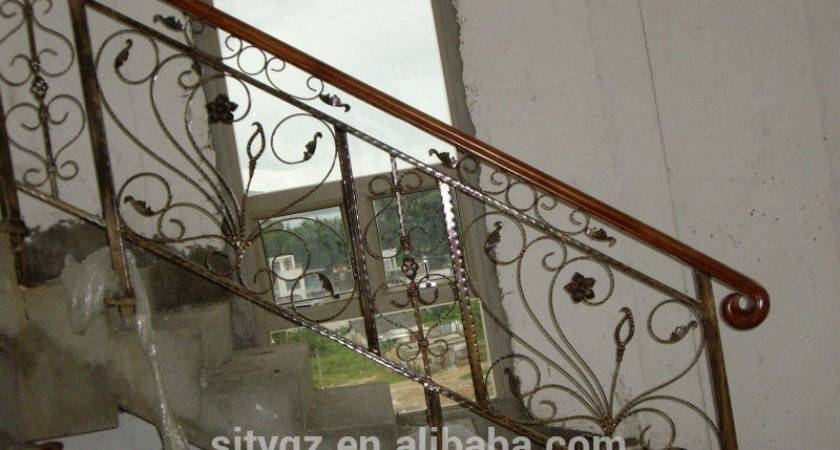 Hot Sales Simple Design Antique Iron Stair Railings Buy