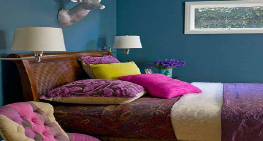 House Beautiful Bedrooms Teal Blue Bedroom Ideas