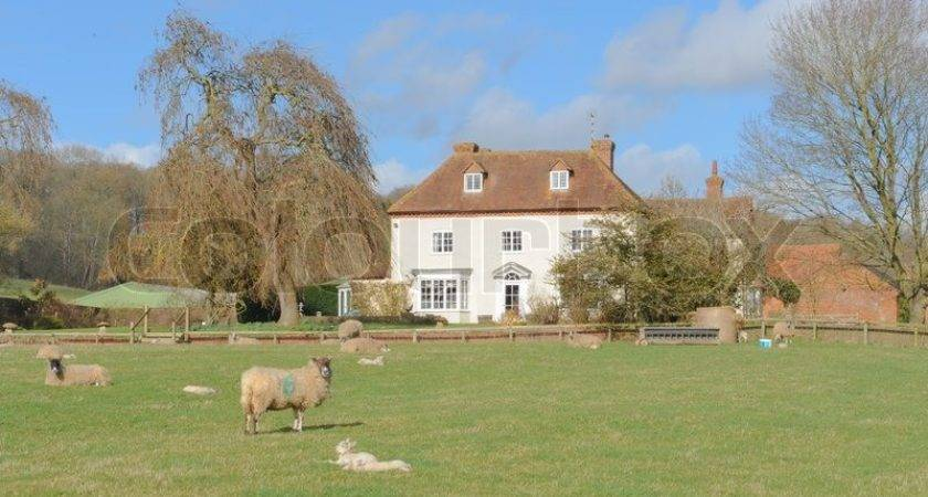 House Farm Typical English Countryside