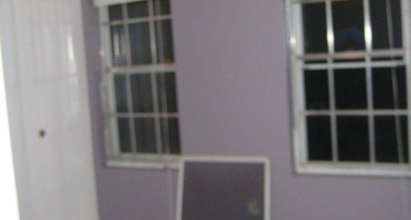 House Home Office Painted Purplegray Color