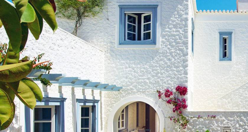 House Tour Refined Relaxed Style Greek Islands