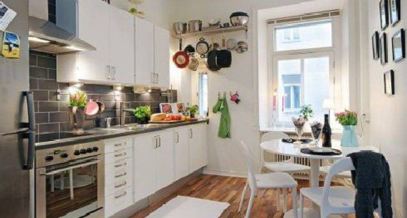 Hunky Design Ideas Small Apartment Kitchens Wooden
