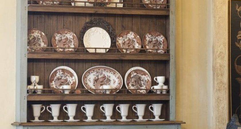 Hutch Decorating Ideas Dining Room Rustic Neutral