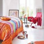 Ideas Bedrooms Orange Pink White