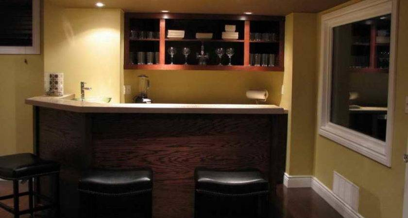 Ideas Decorate Cool Home Bar Wood