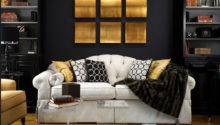 Ideas Decorating Black Gold Furnish Burnish