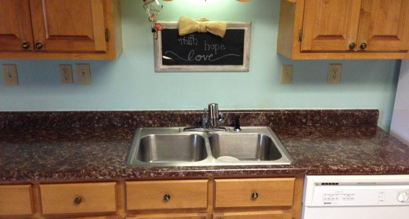 Ideas Painted Laminate Formica Countertops Double
