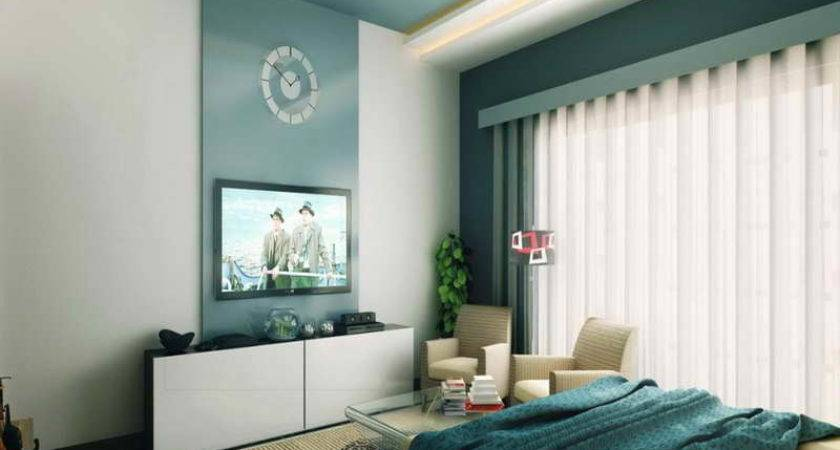 Ideas Turquoise Brown Bedroom Best Paint Color