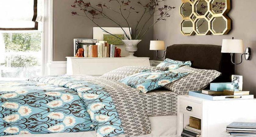 Ideas Turquoise Brown Bedroom Best Paint